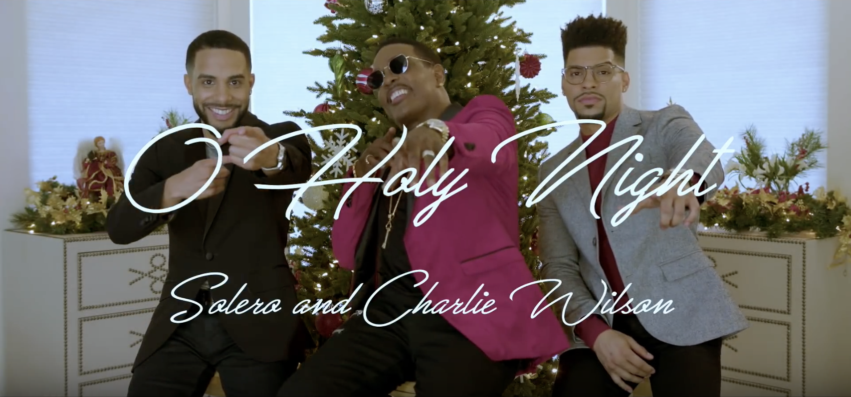 Solero & Charlie Wilson - O Holy Night (SOLERO & Charlie Wilson Official Cover)